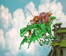 DragonFlyingShip