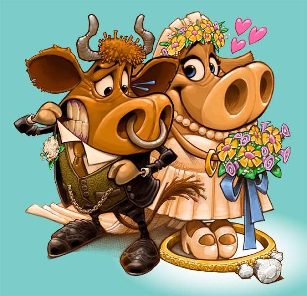 CowWedding